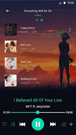 Music Player Pro app (apk) free download for Android/PC/Windows screenshot