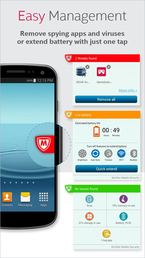 McAfee Mobile Security & Lock- screenshot