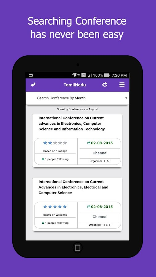 Conferencealerts India- screenshot