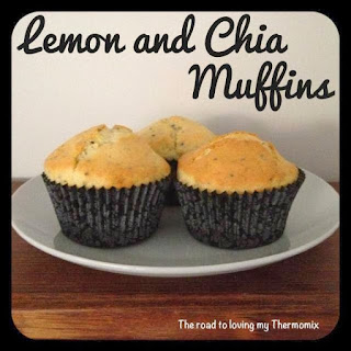 Lemon and Chia Muffins.