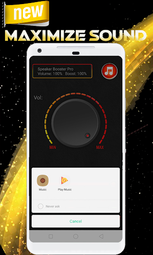 Super Volume booster ,sound booster & bass booster screenshot 1