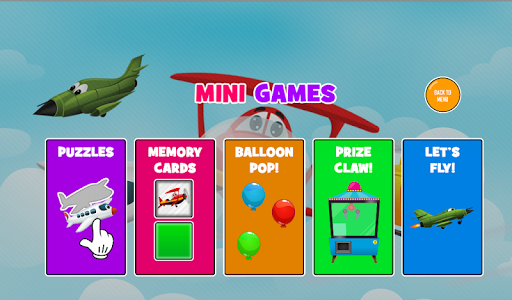 Fun Kids Planes Game 1.0.8 screenshots 4