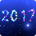 New Year 2017 live wallpaper icon