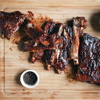 Pomegranate Molasses BBQ Ribs