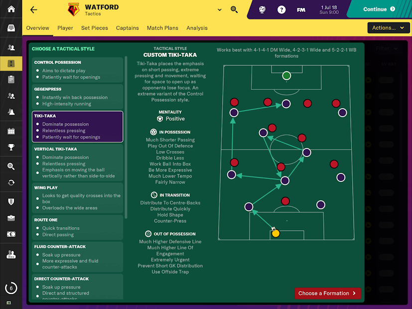 Football Manager 2019 Touch Android App Screenshot