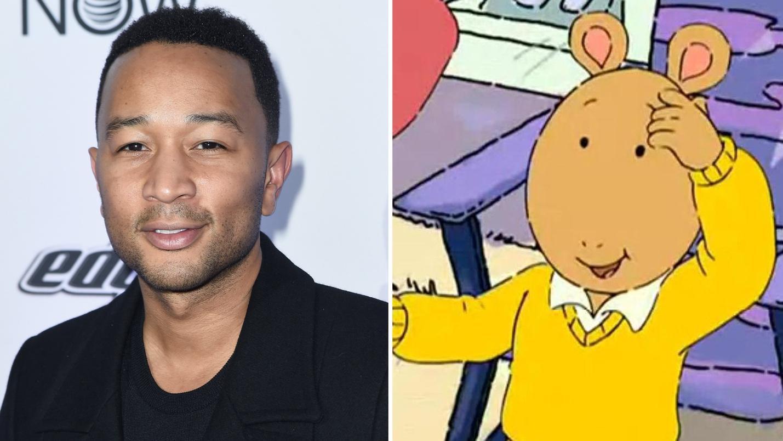 John Legend looks just like Arthur — and Chrissy Teigen knows it!
