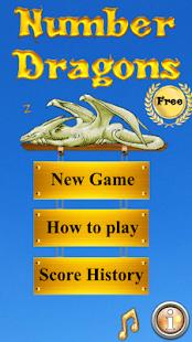 Number Dragons Free - náhled
