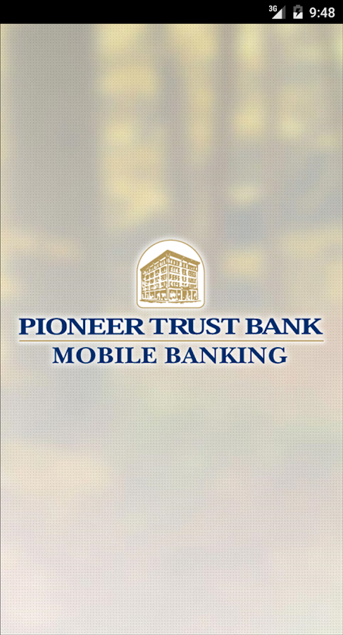 Pioneer Trust Bank Mobile Bank- screenshot