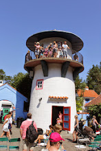 Photo: Dyreparken/Fritidsparken has many attractions. This is from Kardemomme by (town)