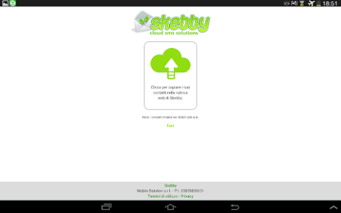 Skebby SMS Multipli (import)- screenshot thumbnail