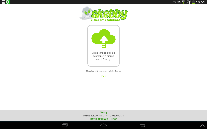 Skebby SMS Multipli (import)- screenshot