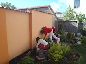 Photo: úklid po zednících
