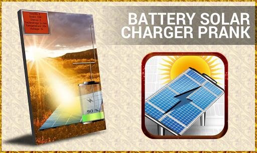 Battery Solar charging -prank