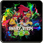 APK App Art Angry Bird Wallpaper HD offline for BB, BlackBerry