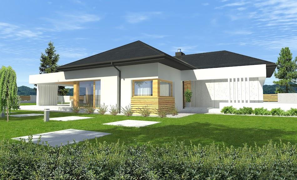 Wizualizacja projektu tygodnia - New House 8 (TJY-277)