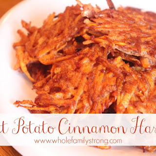 Whole Family | Sweet Potato Cinnamon Hashies