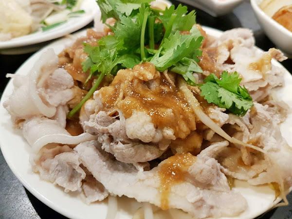 台北/大安 品鱻100元熱炒 推蒜泥白肉和白飯無限續(近六張犁站)