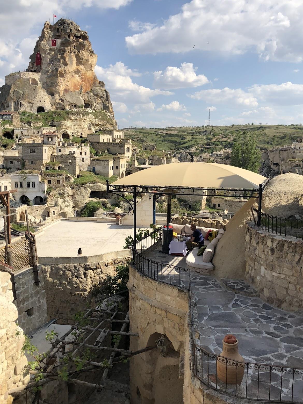 hezen cave hotel terrace