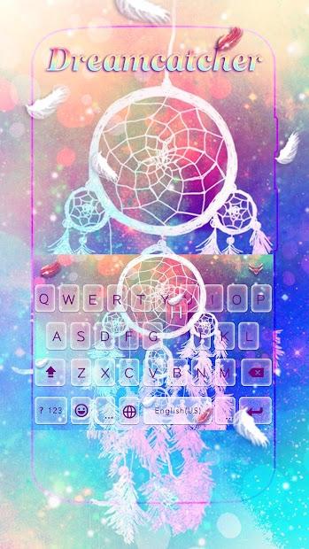Dreamcatcher Keyboard Theme Android App Screenshot