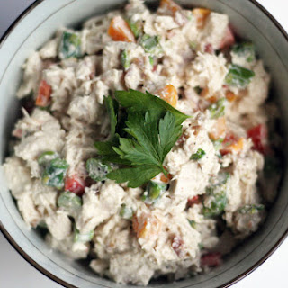 Chicken Salad with Asparagus and Bacon