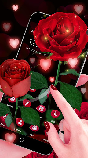 3D Red Roses Love Theme 1.1.13 screenshots 1