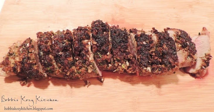 Pork Tenderloin with Garlic, Parmesan, and Balsamic Vinegar Recipe