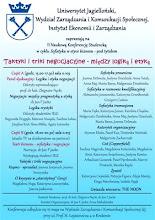 Photo: 16. maja 2012. r. Konferencja naukowa oraz spektakl teatralny. Taktyki i triki negocjacyjne. Organizacja: J. Jacko, A. Małodzińska