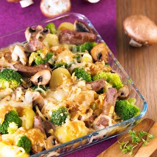 Champignon-Broccoli-Pfanne