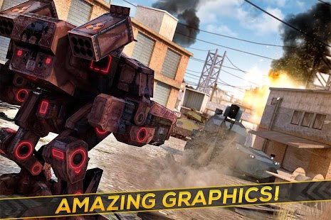 Robots Tanks of War - Transformation Fighting- screenshot thumbnail