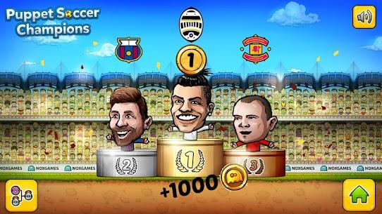 ⚽ Puppet Soccer Champions Mod Apk – League ❤️🏆 5