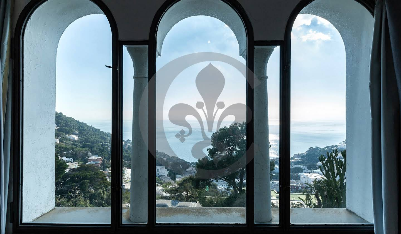Villa avec piscine et jardin Anacapri