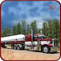 Offroad Oil Cargo Truck 3d icon