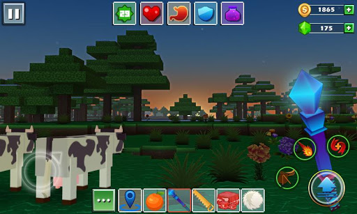 玩免費動作APP|下載ブロックワールド - Exploration Craft app不用錢|硬是要APP