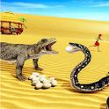 Komodo Dragon Simulator 3D 2020 icon