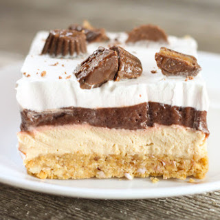 No Bake Chocolate Peanut Delight.