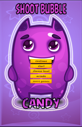 Shoot Bubble Candy