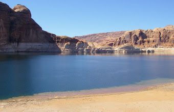 Photo: Lake Powell deserted!