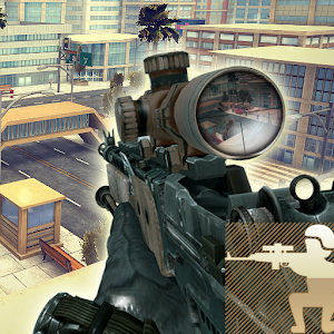 Sniper Fury 3D Assassin Gun Shooter : FPS War Game