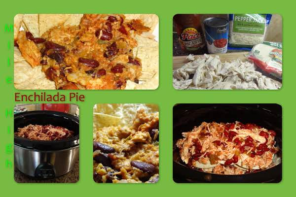 Mile High Enchilada Pie Recipe