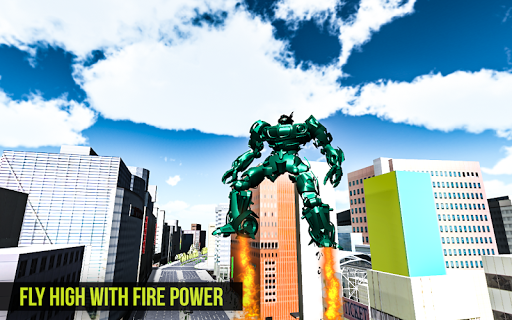 Robot Futuristic Tornado:Robot Transformation 2020 android2mod screenshots 2