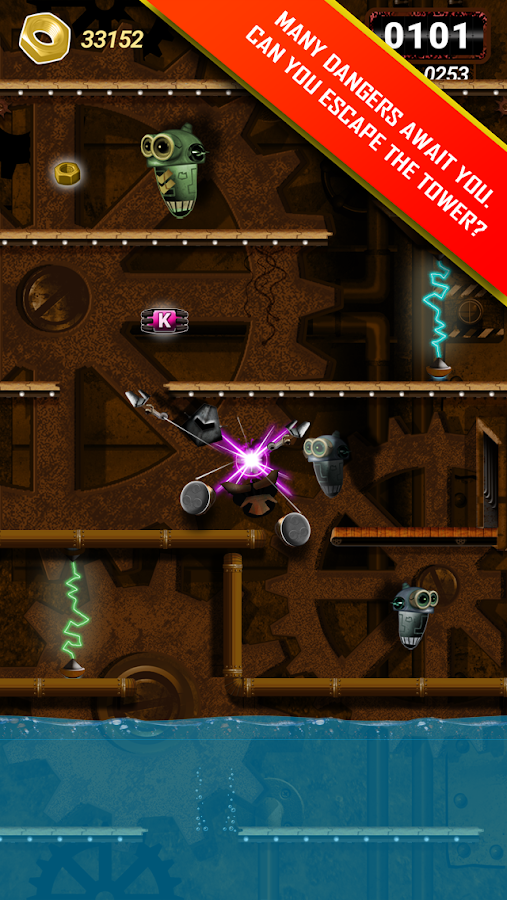 Robotory: Factory Escape Saga- screenshot