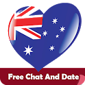 Australia Chat - Free Chat and Dating Service icon