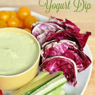 Curried Avocado and Yogurt Dip w/ All You Magazine