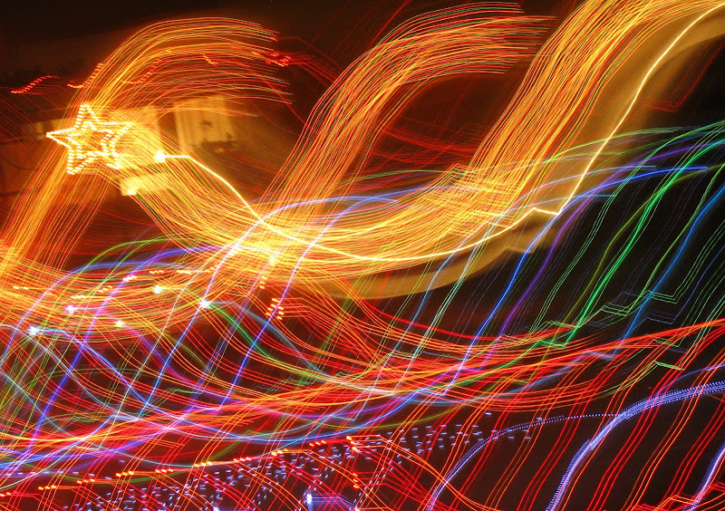 Natale: luci e colori. di Elisabetta Di Girolamo