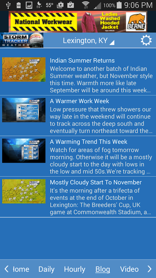 Storm Tracker Weather- screenshot