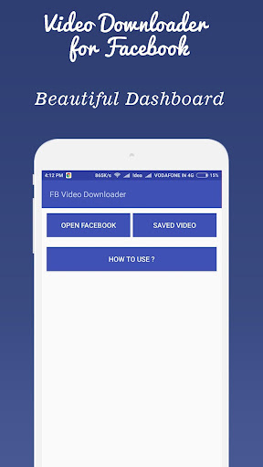 video downloader for  fb screenshot 1