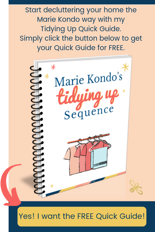 Send me the Marie Kondo quick guide