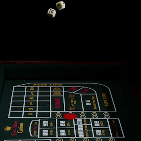 Seven-out-seven! by Chris Couper - Artistic Objects Other Objects ( chips, dice, craps, casino, game )