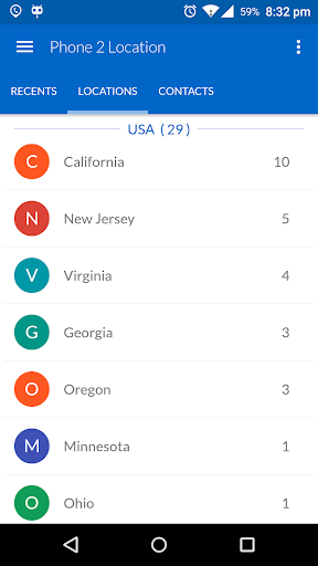 Phone 2 Location - Caller ID Mobile Number Tracker 6.52 screenshots 1