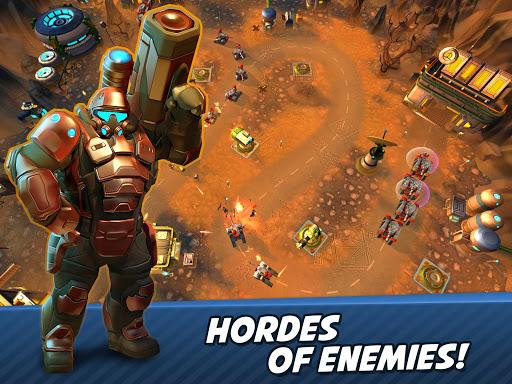 Tower Defense Generals TD  screenshots 1